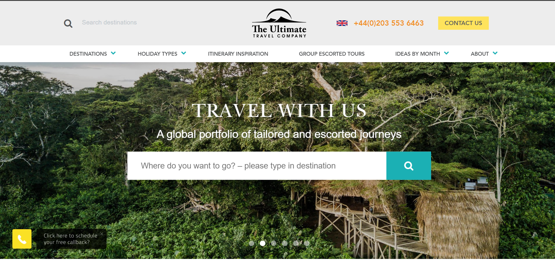 The Ultimate Travel Company Ltd.