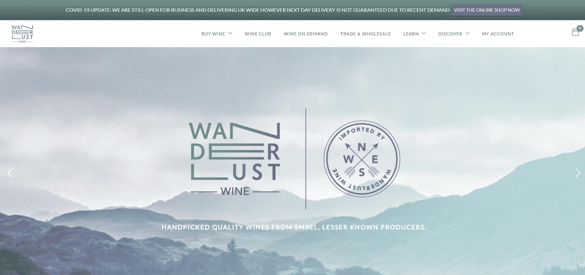 Wanderlust Wine Ltd.