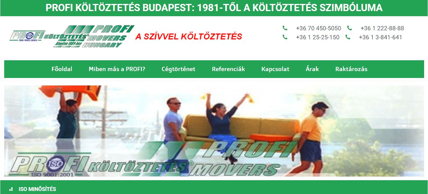 Profi Költöztetés Kft.