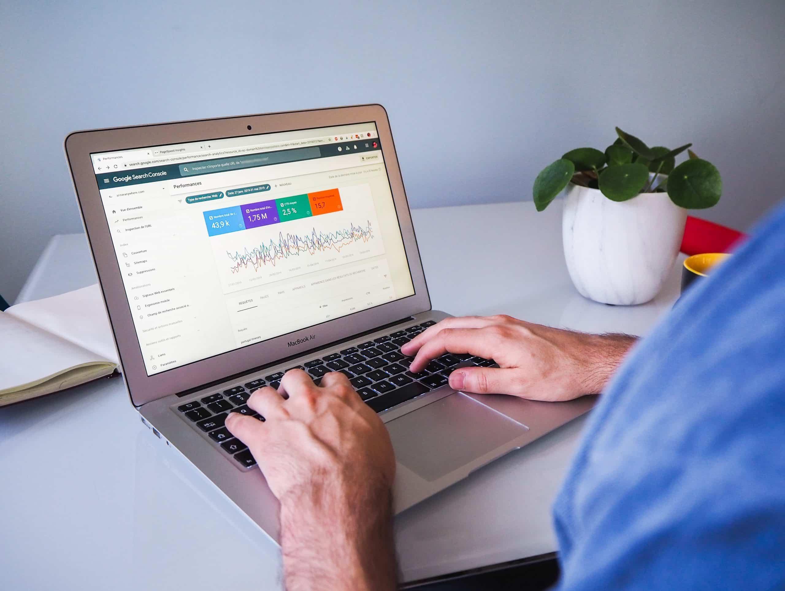 Search Console beállítása és használata